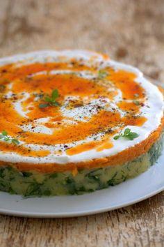 Yine çok pratik ve müthiş lezzetli bir patates salatası ile karşınızdayım.:) Bu tarz tarifleri genelde misafirim geldiği zaman hazırlıyorum. Onların beğenilerini görünce de,ger…
