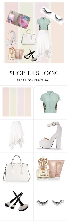 """""""#Untiteld"""" by sinanovicasja ❤ liked on Polyvore featuring Jaeger, Proenza Schouler, French Connection, Vince Camuto and tarte"""