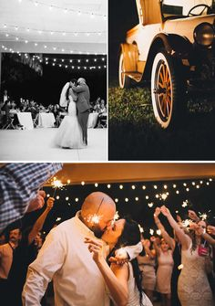 Glowing Sunset Fall Wedding in Florida | WeddingWire: The Blog