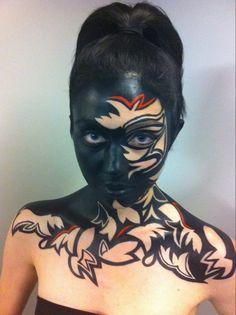 Inspiring student work @ Blanche Macdonald! http://www.blanchemacdonald.com/makeup/gallery/