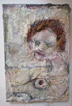 "Artist: Smadar Lomnitz; Acrylic 2016 Painting ""Untitled"""