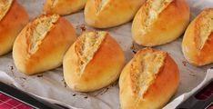 Evde minik somun ekmek tarifi   Kadınca Fikir - Kadınca Fikir Hamburger, Food And Drink, Bread, Foods, Drinks, Cucina, Food Food, Food Items, Beverages