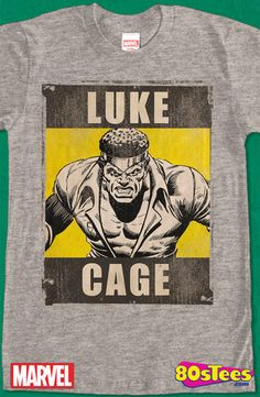 327a0002e Luke Cage T-Shirt, Marvel Geeks: This celebrity character has been seen in