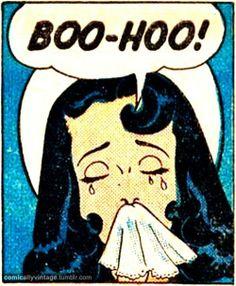 """Boo-Hoo"" | Vintage Comic |  Pop Art"