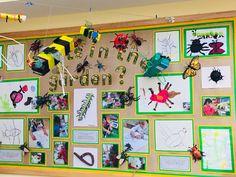"""This half terms published learning Eyfs Classroom, Classroom Displays, Preschool Displays, Eyfs Activities, Spring Activities, Preschool Garden, Preschool Art, Minibeast Art, Nursery Display Boards"