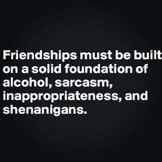 Not just friendships...