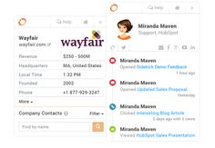 Sidekick Email Profiles
