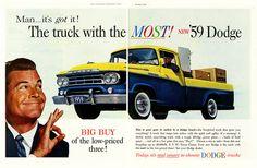 I love old Dodge trucks.