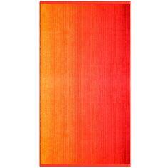 Durch harmonisch aufeinander abgestimmte Farbverläufe in brillianten Farben überzeugt das Strandtuch »Colori« aus dem Hause Dyckhoff. Neben dem voluminösen und weichen Material überzeugt diese Frotteeserie durch 100% Baumwolle aus kontrolliert ökologischem Baumwollanbau. Die BIO-Baumwolle lässt das Strandtuch wunderbar hautfreundlich werden und die pflegeleichten Eigenschaften machen das Strand...
