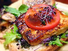 ソースは柚子こしょう、マーマレード、醤油、みりん。 - 65件のもぐもぐ - 豆腐ステーキ乗せトースト by machimachicco