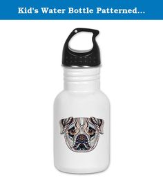 Kid's Water Bottle Patterned Pug Dog Lover. Product Number: 0001-1770594679 Perfect for school lunches or soccer games, our kid's stainless steel water bottle quenches children's thirst for individuality. Personalized for what kids love, it's both eco-friendly and compact. Made of 18/8, food-grade stainless steel. * No lining & no BPA or other toxins * Wide mouth for easy drinking * Durable, BPA-free & phalate-free screw-on top * Holds 0.35L (nearly 12 ounces) * Thin profile to fit most…