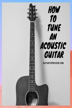 So we take it that you are learning to play the guitar and you are interested in learning how to tune your acoustic guitar. Guitar Tips, Guitar Songs, Guitar Lessons, Guitar Chords, Art Lessons, Guitar Scales, Acoustic Guitar Strings, Acoustic Guitars, Guitar Exercises