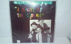 A NIGHT AT THE OPERA Laserdisc Movie Criterion LD #31 CAV