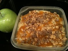 heath bar apple dip