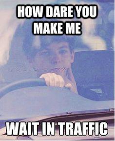 Louis Tomlinson Memes | louis tomlinson One Direction 1D meme car driving 1d meme sassy louis ...