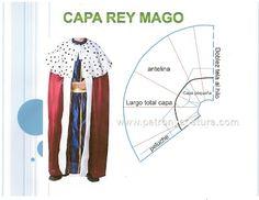 capa de Rey Mago DIY.Tema 149