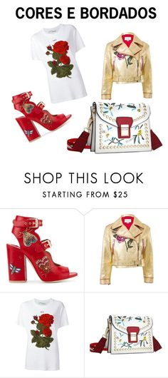 """""""Untitled #45"""" by quianeacza on Polyvore featuring Laurence Dacade, Gucci and Off-White"""