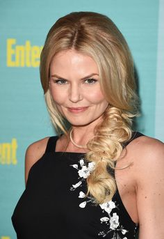 Jennifer Morrison's fishtail braid