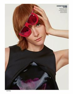 Elle UK August 2014 | New Season Collections by Kai Z Feng