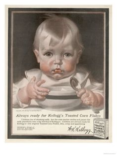 One company who used J C Leyendecker's illustrating skills was the breakfast food company of Kelloggs. The artist produced 20 different illustrations for ad campaigns. These advertisements are highly collectible today and loved by many for the capricious characters in each if the ads.