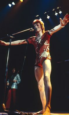 David Bowie as Ziggy Stardust in 1973