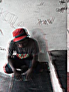 Mi Casa, su casa! Whats mine is yours, if you stay loyal! Got my #XXV tag on the wall! #vandalism #damageControl_