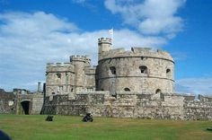 Falmouth (Pendennis Castle)... Cornwall (UK)...