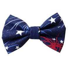 The Patriot Dog   Cat Bowtie => For more information, visit now : Cat Collar, Harness and Leash