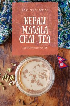 A must-drink in Nepal: Masala Chai Tea. Nepali people love their tea, and I understand why: Masala Chai Tea is just a real comforting and delicious drink. Good thing: make it at home with this easy-peasy recipe! Masala Chai, Cha Recipe, Chai Tee, Masala Powder Recipe, Nepali Food, Chai Tea Recipe, Dessert Sauces, Milk Tea, International Recipes