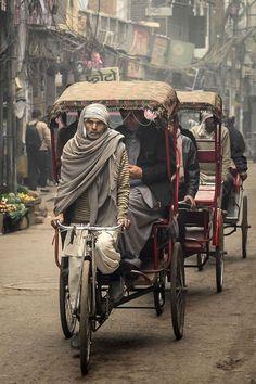 Image Photography, Photo Art, India, Bicycle, Around The Worlds, Scene, Street, Artist, Prints