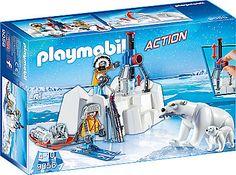 Playmobil® Polar Ranger mit Eisbären (9056), »Action« bestellen » Eisbären mit verstellbaren Gliedern ✓ Ab 4 Jahren ✓ Spielzeug bei BAUR
