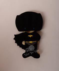 Bat boy felt paper doll, pretend play, quiet play, imaginary play, travel toy, felt non paper doll, by LucyandLyla on Etsy