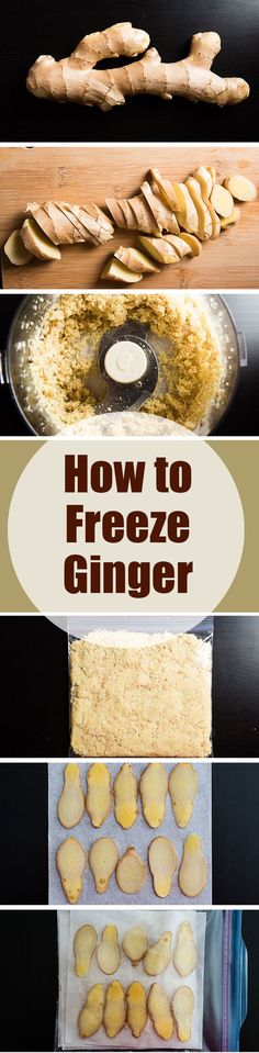 How to Freeze Ginger   omnivorescookbook.com What?? I don't have to peel it?!?!?!?
