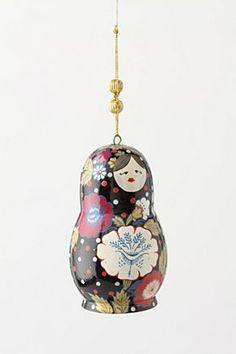 Matryoshka Doll Ornament