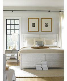 interesting curtain rod placement above bed        Young America  Online Outlet Store    Retailer Resource Center  Image Library
