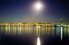 Rio Guaiba à noite (2)