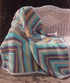 Baby Mitered Square Blanket