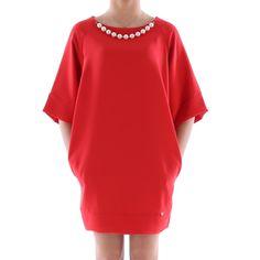 Vestito oversize collana perle donna - € 67,90 | Nico.it - #fashionista #nicoit #nicoabbigliamentocalzature #fashion #nuoviarrivi #newarrivals #newcollection #nuovacollezione #bestoftheday #outfit #outfitoftheday #spring #springsummer #summer #ss15 #2015