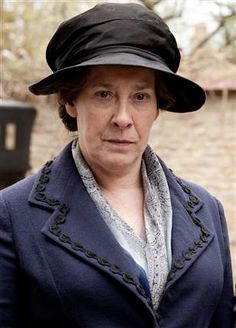Downton Abbey-Mrs. Hughes; she may look tough on the outside, but she has a heart of gold.