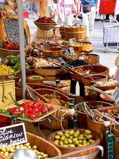 Market at Beaune, France