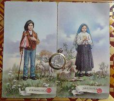 Children of Fatima Francisco Jacinta Marto relic reliquary soil from Fatima