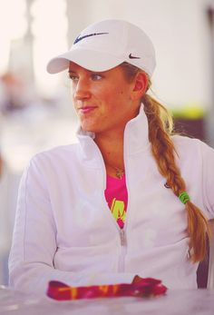 Victoria Azarenka cute braid