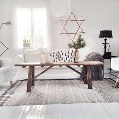 @kjerrstigullbrekken | House Doctor rug from @immyandindi