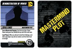 Watchmen Crossover Pack 4 Preview | Cryptozoic Entertainment