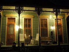 Nighttime porch   NOLA Details