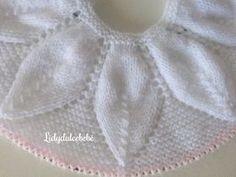 Lidy Dulce bebé. : Canesú de hojas nº 2