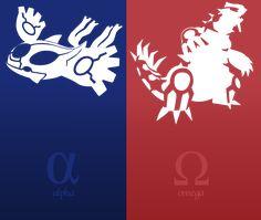 Pokemon Alpha Sapphire Omega Ruby Vector by firedragonmatty.deviantart.com
