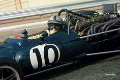 Pedro Rodriguez BRM P156 1969