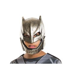 Rubie's Batman v Superman: Dawn of Justice Armored Kids Batman 1/2 MASK #costume #batman #costume