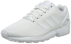 competitive price 4259f da314 adidas ZX Flux, Unisex Adults Low-Top Sneakers, Off White (Ftwr